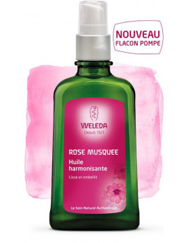 Rose musquee Huile harmonisante 100ml Weleda