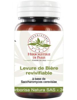 Levure de biere revivifiable 150 gelules vegetales de 400 mg Herboristerie de Paris
