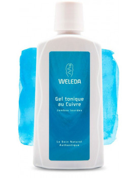 Gel tonique au Cuivre circulation - 200ml Weleda
