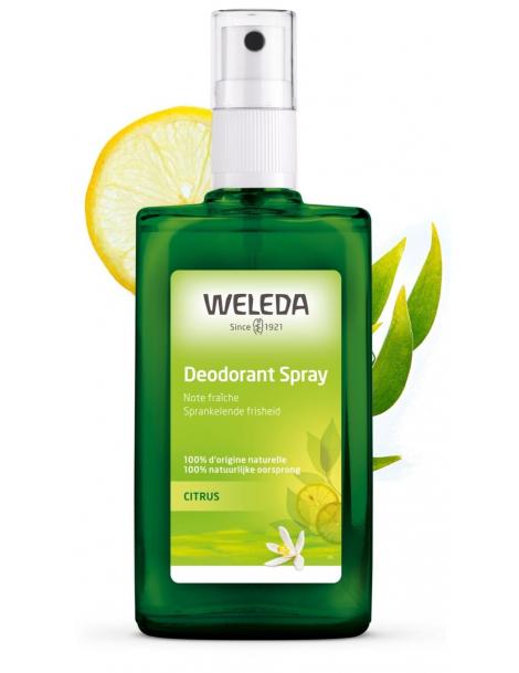 Deodorant au Citrus  Vapo 100ml Weleda,  Déodorant bio,  Toilette,  abcBeauté.