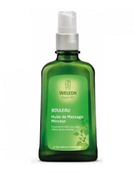 Weleda Huile de massage minceur aux extraits de bouleau 100 ml - huile minceur - abcbeauté