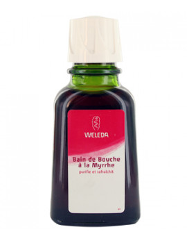 Bain de bouche à la Myrrhe 50ml WELEDA