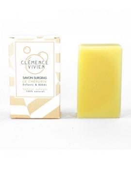 Savon surgras Le Chérubin Délicat 100 gr Clémence et Vivien, savon peau délicate de bébé