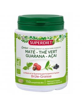 Quatuor Brule-Graisse bio 150 comprimes + 25% gratuit Super Diet