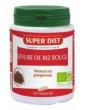 Levure de Riz rouge 150 gélules Super Diet, monacoline k abcbeauté
