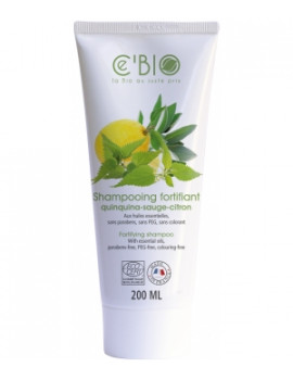 Shampooing fortifiant Quinquina Sauge Citron 200 ml C'BIO
