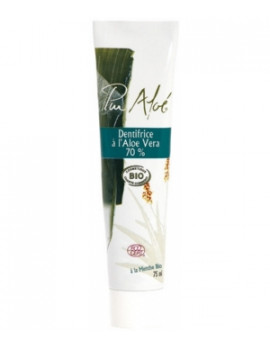 Dentifrice bio à l'Aloe Vera 75 ml Pur'Aloé, gel natif d'aloe vera à 70%, abcbeaute