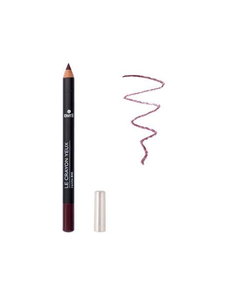 Crayon contour des yeux Prune 1 gr Avril Beauté Bio, maquillage bio des yeux, abcbeauté