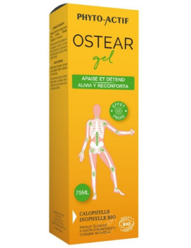 Ostear Gel bio 75 ml Phyto actif gel de massage abcbeaute