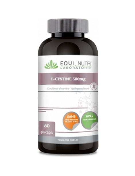 L-Cystine 500 mg Equi Nutri 60 gélules abcbeauté