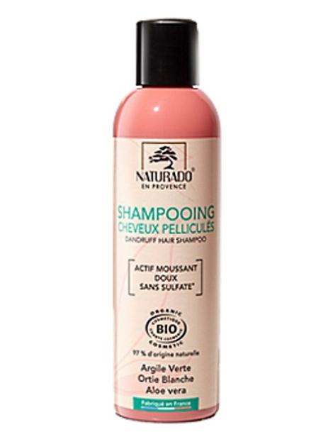 Shampooing bio Anti - pelliculaire  200ml Naturado en Provence abcbeauté