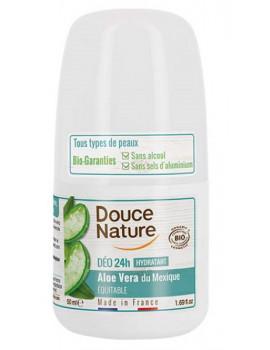 Déodorant à billes peaux sensibles 50ml Douce Nature - déodorant bio pour le corps