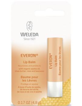 Soin des lèvres Everon riche en cires naturelles 4g Weleda - soin réparateur