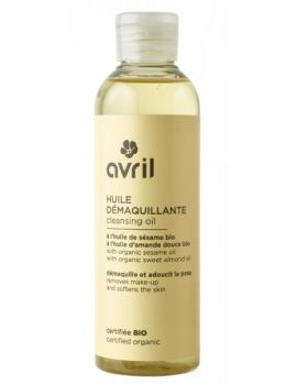 Huile Démaquillante Bio Sésame Amande Douce 100 ml Avril Beauté - produit de soin pour le visage