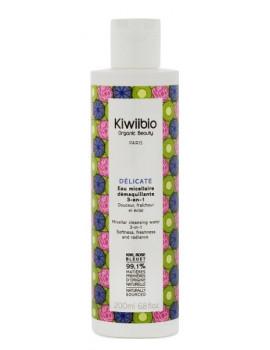 Délicate Eau micellaire démaquillante 200ml Kiwii Bio - eau micellaire naturelle abcbeauté