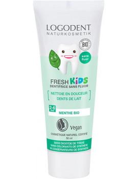 Dentifrice Kids Menthe douce 50 ml Logodent Logona