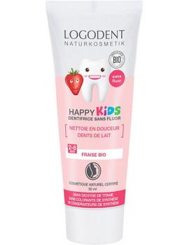 Dentifrice Kids Arôme fraise 50 ml Logona
