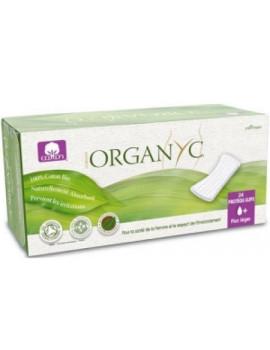 abcbeauté Protège Slips Vrac 24 unités Organyc - produit d'hygiène féminine