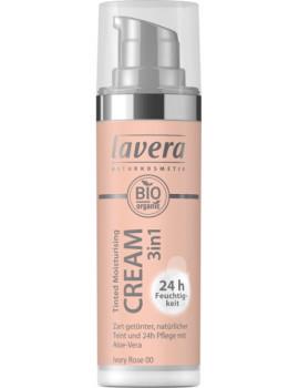 Crème hydratante teintée 3 en 1 Naturel 30ml Lavera bb cream abcbeauté