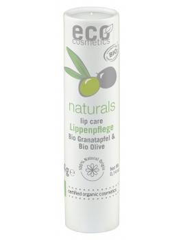 Baume à lèvres Grenade et Huile d'Olive 4gr Eco Cosmetics stick lèvres bio abcbeauté