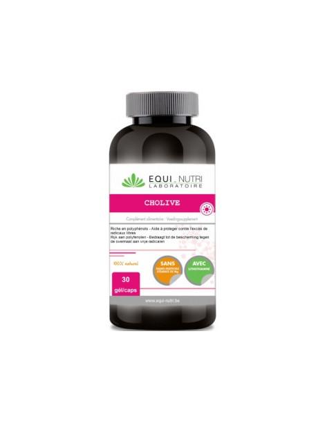 Cholive Hydroxytyrosol 30 gélules Equi Nutri