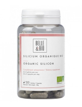 Silicium organique 120 gélules Belle et Bio