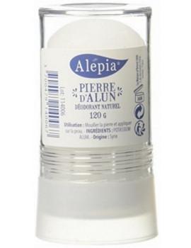 Pierre d'Alun Naturelle Stick 120 gr Alepia déodorant naturel abcbeauté
