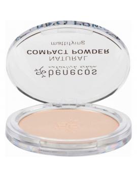 Poudre compacte Naturelle 9 gr Benecos maquillage bio Abcbeauté