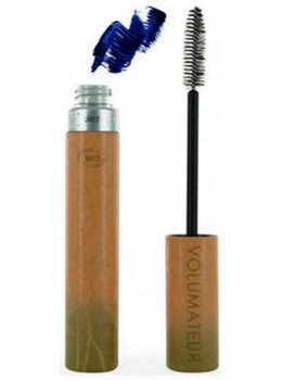Mascara Volumateur no 43 Bleu incandescent 9 ml Couleur Caramel maquillage bio abcbeauté
