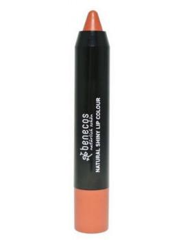 Baume Rouge à lèvres Rusty Rose 4gr Benecos maquillage minéral 2 en 1 Abcbeauté