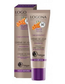 Age Protection crème de jour raffermissante 30 ml Logona anti rides Abcbeauté