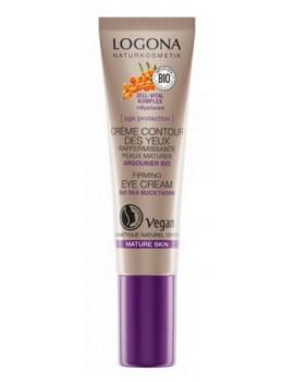 Age Protection crème contour des yeux raffermissante 15 ml Logona argousier peaux matures Abcbeauté