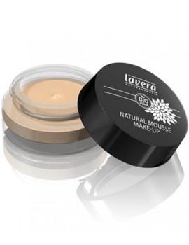 Mousse de teint naturel Ivoire 01 15 gr Lavera maquillage minéral Abcbeauté