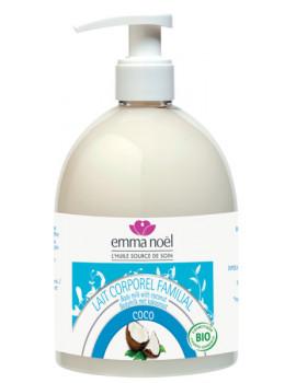 Lait Corporel familial Coco 500 ml Emma Noel