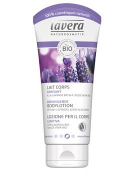 Lait corps apaisant Lavande Aloe Vera 200 ml Lavera lait corporel bio Abcbeauté