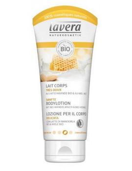 Lait Corps Lait d'Amande Miel Bio 200 ml Lavera
