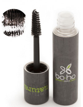 Mascara naturel Précision noir 01 6 ml Boho Green mascara minéral Abcbeauté