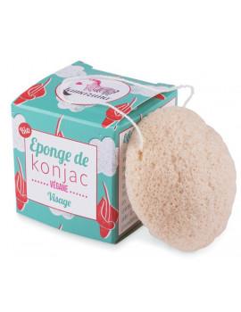 Eponge de Konjac 30 gr Lamazuna douceur et nettoyage Abcbeauté