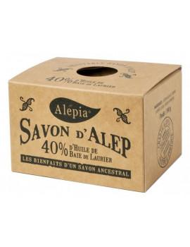 Savon d'Alep ancestral 40% baie de Laurier 190 gr Alepia savon traitant Abcbeauté