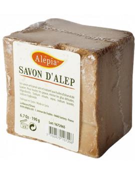 Savon d'Alep filmé peaux délicates 190 gr Alepia