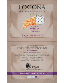 Age Protection Masque Hydratant Raffermissant 2 x 7.5ml Logona masque bio Abcbeauté
