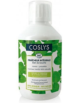 Bain de bouche protection complète fraîcheur intégrale arôme Menthe 250 ml Coslys Abcbeauté