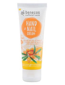 Crème mains et ongles Argousier et Orange 75 ml Benecos tournesol Abcbeauté