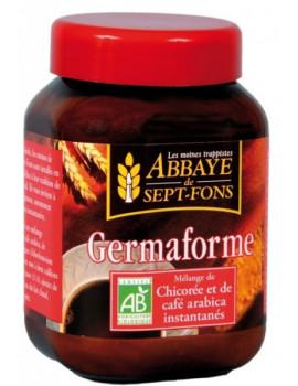 Germaforme Chicorée bio Café arabica bio instantanés 100 gr Abbaye de Sept fons Abcbeaute