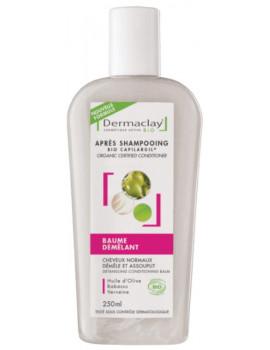 Baume démêlant Après shampooing 250 ml Dermaclay capilargil Abcbeauté
