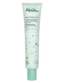 Fluide matifiant Nectar Pur 40 ml Melvita ressere les pores Abcbeauté
