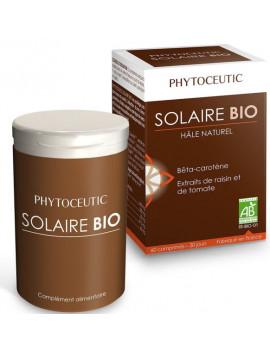 Solaire bio Hâle naturel 60 comprimés Phytoceutic carténoides de dunaliella Abcbeauté