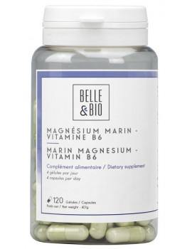 Magnésium Marin Vitamine B6 120 gélules Belle et Bio Abcbeauté