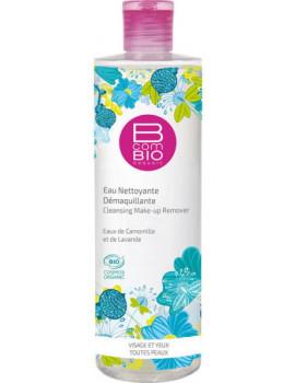 Eau nettoyante démaquillante bio Pureté Florale 400 ml BcomBio camomille lavande Abcbeauté