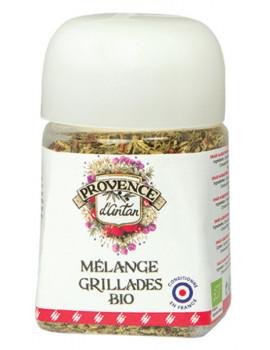 Mélange Grillade bio pot végétal biodégradable 30 gr Provence d'Antan viandes et poisson Abcbeauté